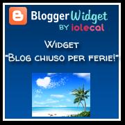 Blog chiuso per ferie