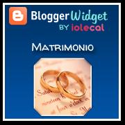 Widget matrimonio