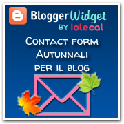 contact form autunnali per blog