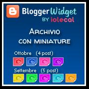 archivio con miniature