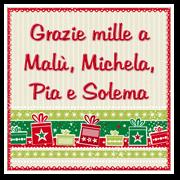 Grazie a Malù, Michela, Pia e Solema
