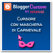 Cursore per Carnevale