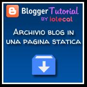 archivio blog