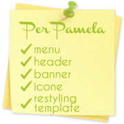 Iole per pamela menu immagine di header banner icone for Html header menu templates