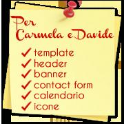 Per Carmela e Davide