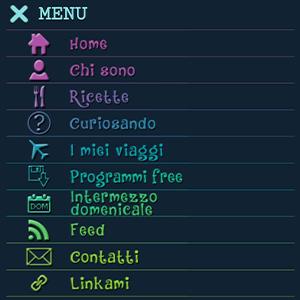 menu mobile Edvige