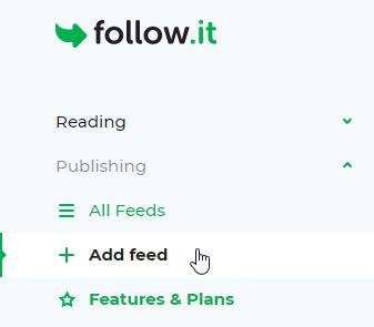 Add feed