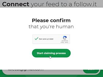 Start claiming process